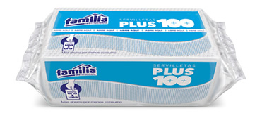 Servilleta plus 100 familia